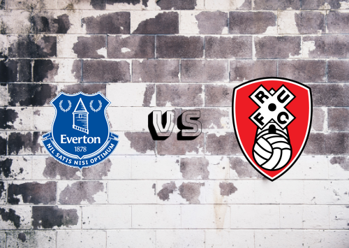 Everton vs Rotherham United  Resumen