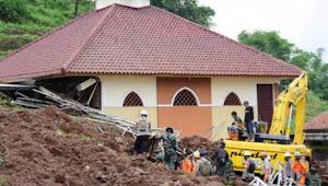 Longsor di Sumedang, Total meninggal 16 Orang Masih dalam pencarian 23 Orang