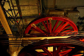 engine room of Eiffel Tower