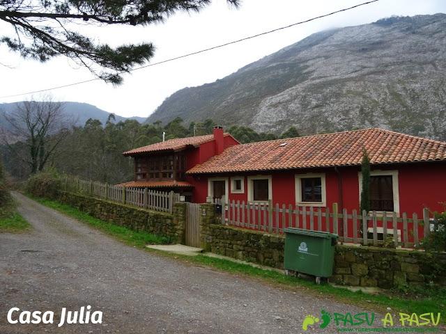 Ruta al Pico Gobia y La Forquita: Casa Julia