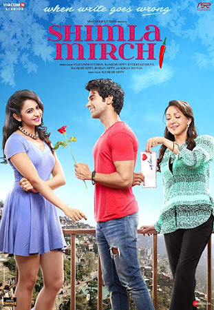 Poster Of Bollywood Movie Shimla Mirchi 2020 300MB Pdvd Full Hindi Movie