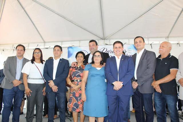 Vereadores participam da comemoração do aniversário de Paço do Lumiar