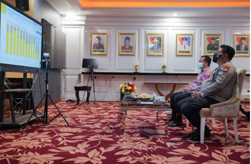Plt Gubernur Sulawesi Selatan Dukung Langkah Pemerintah Pusat Dalam Pembukaan PTM Di Masa PPKM Level 1-3