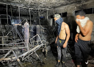 Iraq Covid Hospital Fire: At Least 27 Dead after 'Oxygen Tank Explodes'