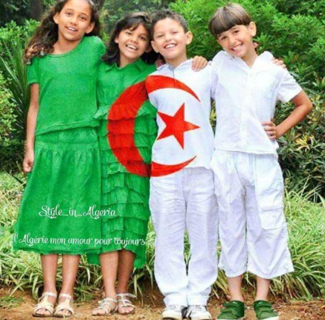 طفال جزائريين