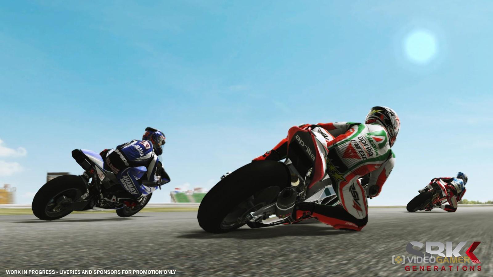 السباق والسرعة مع اللعبة SBK Generations-RELOADED بكراك ريلودد على اكثر من سيرفر