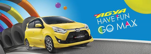 Harga Mobil Toyota Agya 2019 (Khusus Wilayah Medan)
