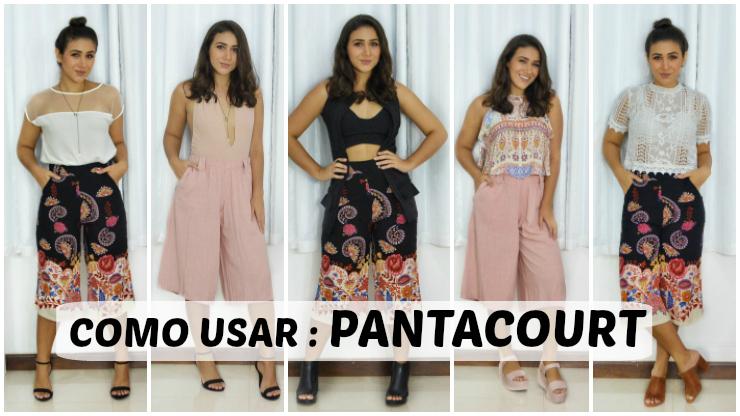 vários looks usando calça pantacourt ludmila maltez