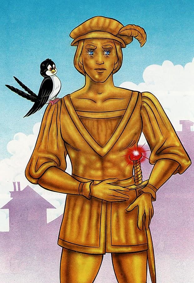 Príncipe Feliz y Golondrina
