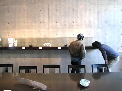 奈義町現代美術館での展示風景