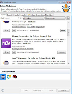 Maven plugin for eclipse