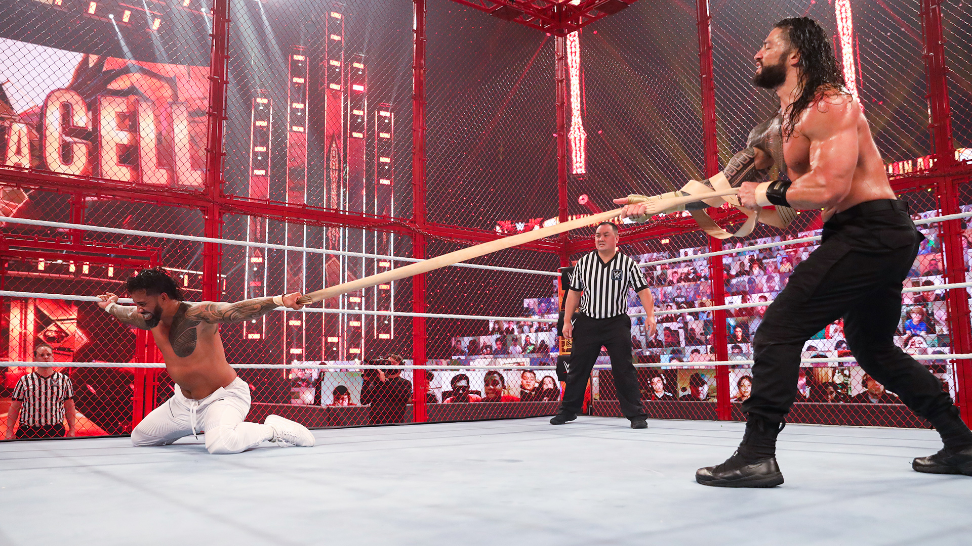 Roman Reigns indica fim da rivalidade com Jey Uso