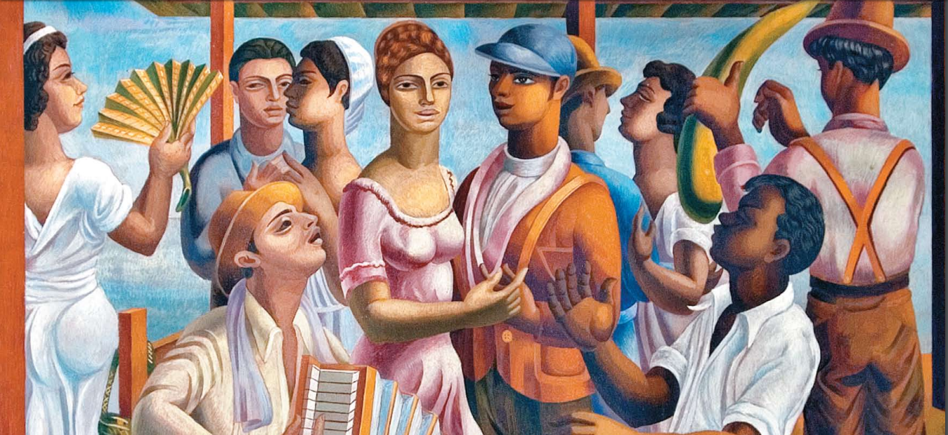 Merengue, 1938, by Jaime Colson