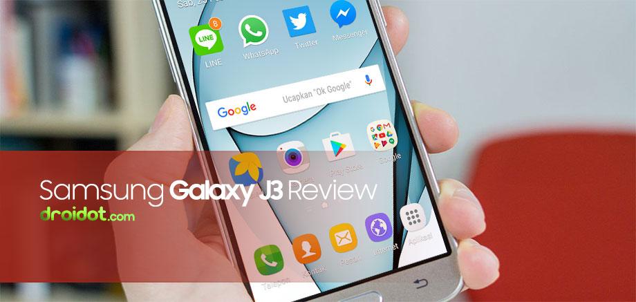 Spesifikasi dan Harga Samsung Galaxy J3 Series Update
