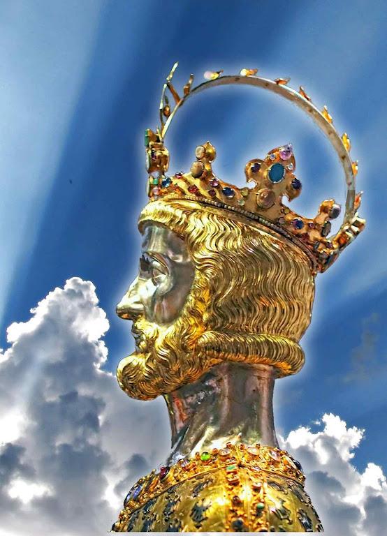 Carlos Magno: luz do Céu que ilumina a estrada do futuro