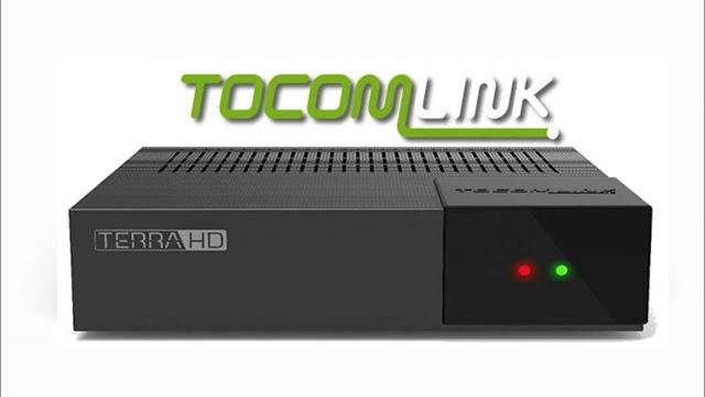 Tocomlink Terra HD Plus Atualização DRMCAM V3.007 - 29/12/2020