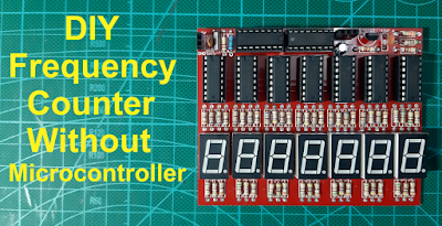DIY Frequency Counter Without Microcontroller