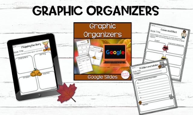 Graphic organizers fall theme