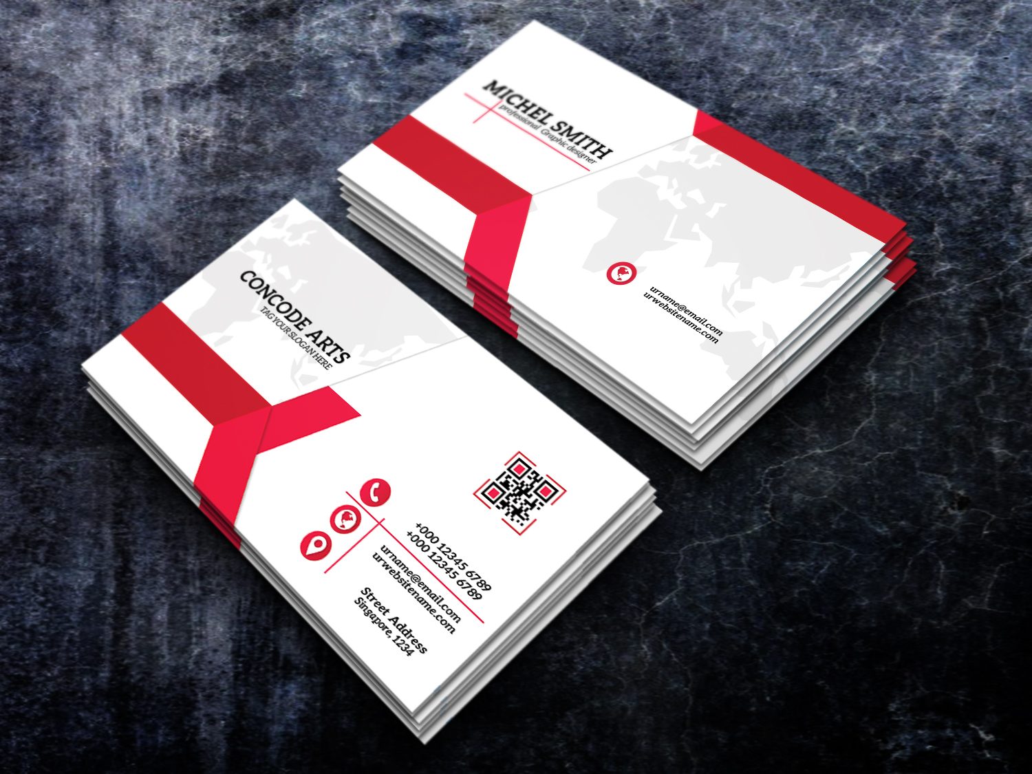 Simple business card vol 98 | professional business card templates