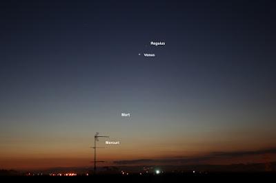 Venus, Mart i Mercuri - 21/09/2017