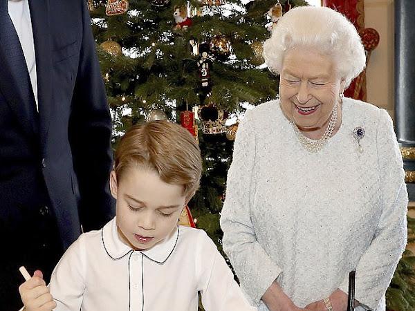 Świąteczny czas w Rodzinie Królewskiej.