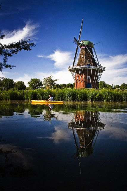 Windmill Island, Holland, Michigan, USA