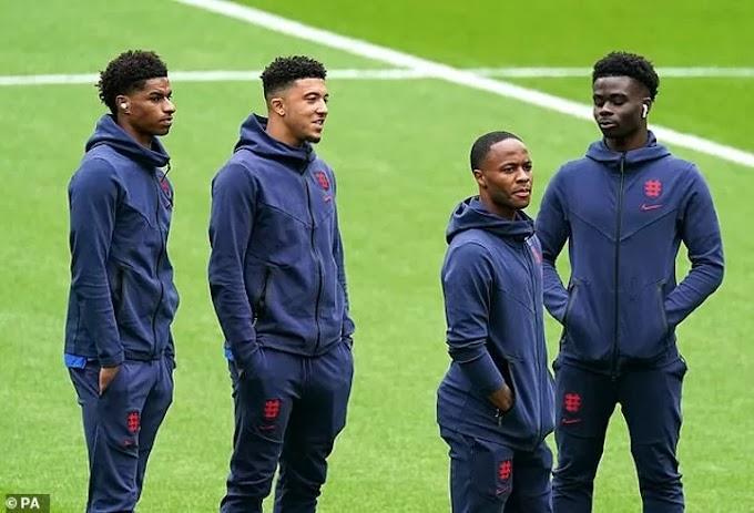 Bukayo Saka, Marcus Rashford and Jadon Sancho to receive support from England fans