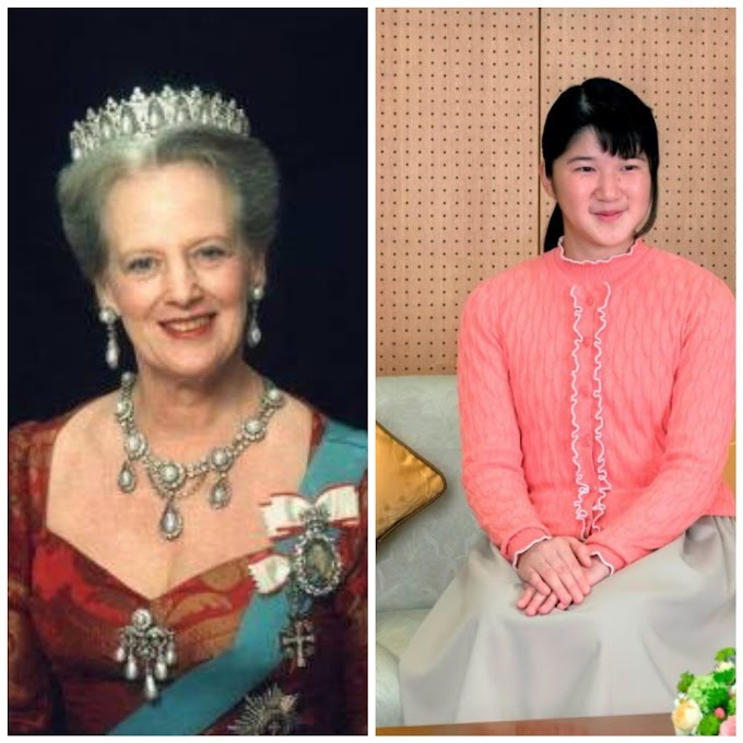 Princess Aiko and Queen Margrethe II and their fate on the Throne
