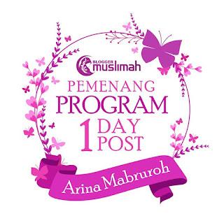 Pemenang atau peserta terbaik ODOP Blogger Muslimah Indonesia Agustus 2017