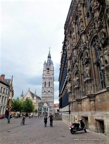 que visitar en Gante en Belgica