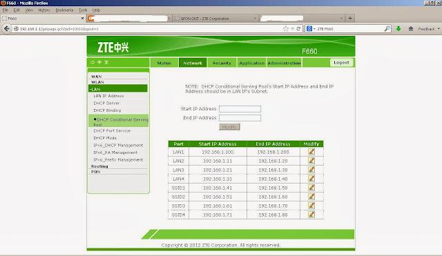 Mengganti Password Wifi ZTE Indihome