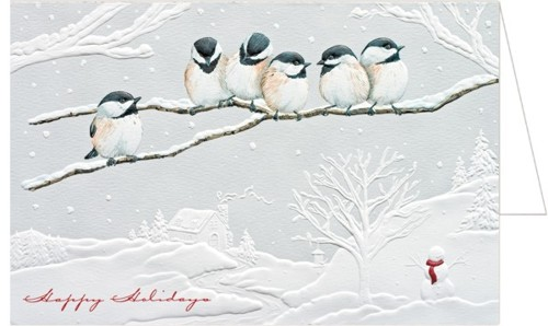 Storkie Holiday Card