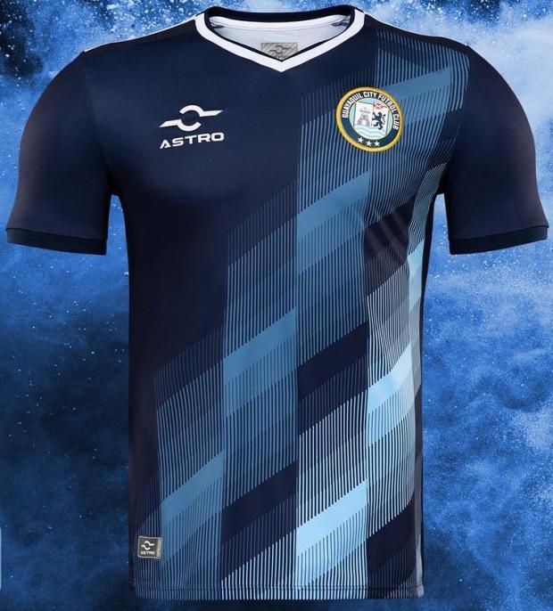 Astro divulga as novas camisas do Guayaquil City - Show de Camisas 7834e01019ac8