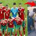 لاعبو المنتخب المغربي يهدون شاشة كبيرة لاطفال قرية امازيغية بعد انتشار صورتهم يتابعون الكان بالجوال