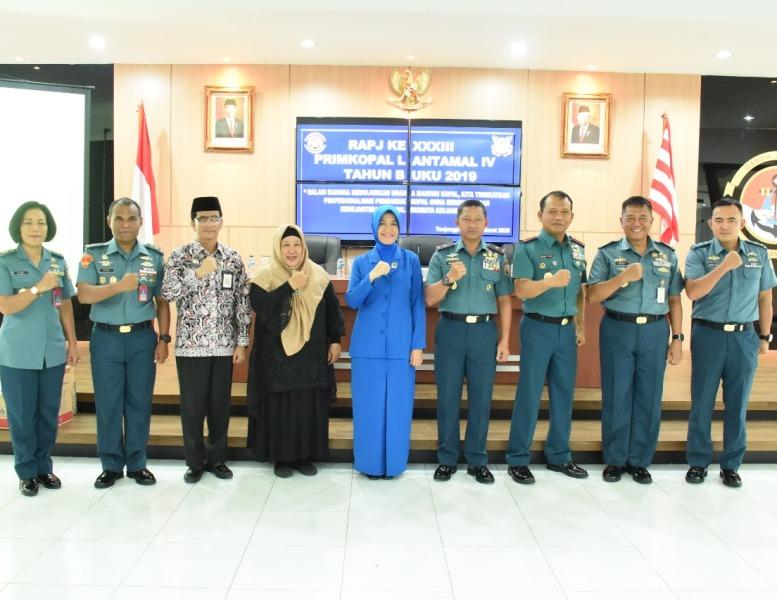 Danlantamal IV Buka RAPJ ke XXXIII Primkopal Lantamal IV TB 2019
