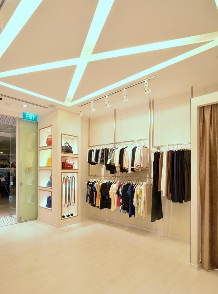 Interior Butik Modern Lifestyle  Majalah Rumah