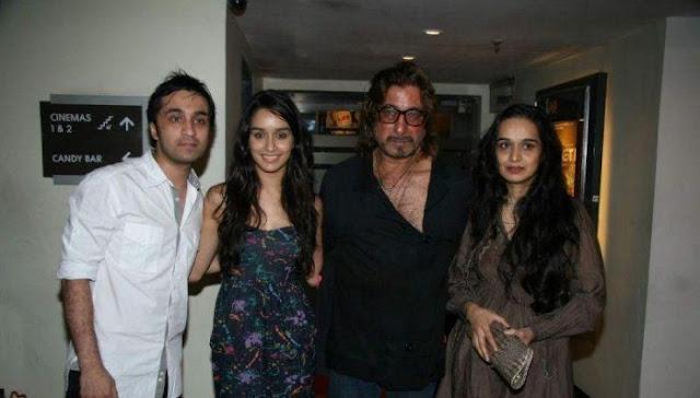 Shraddha Kapoor's Family