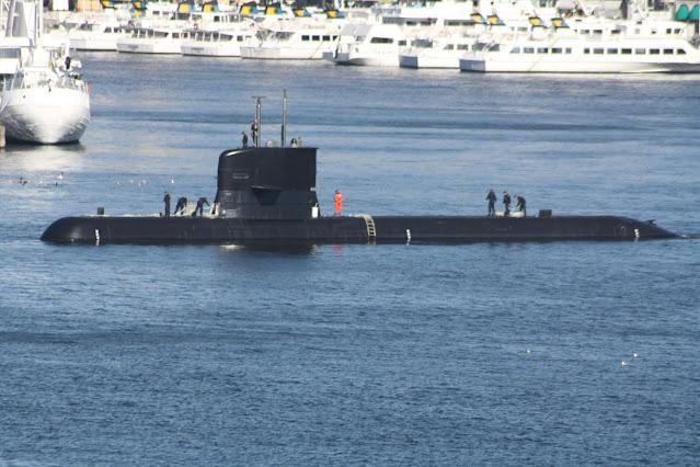 Submarino Clase A17 Södermanland