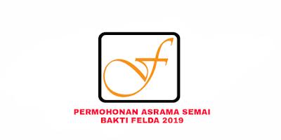 Permohonan Asrama Semai Bakti FELDA 2019 Online