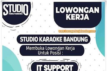 Lowongan Kerja Bandung Karyawan Studio Karaoke Bandung