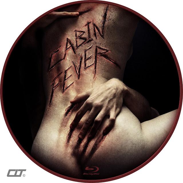 Cabin Fever Bluray Label