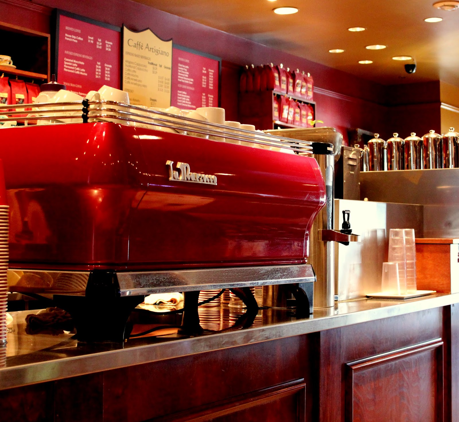 local coffee shops and chain coffee
