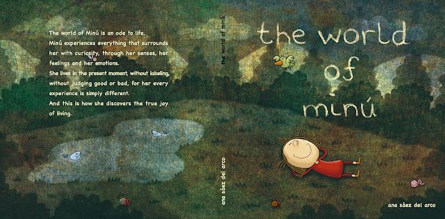 """The world of Minú portada-ilustración-ana sáez del arco-The world of Minú-cover page-illustration"""