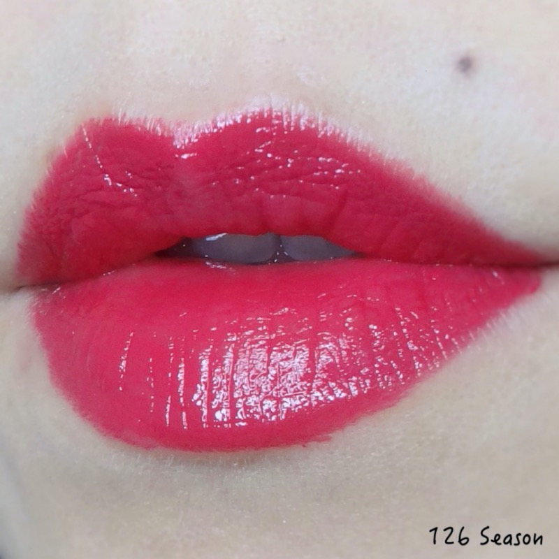 Chanel Rouge Coco Bloom Season (126) Review Swatches