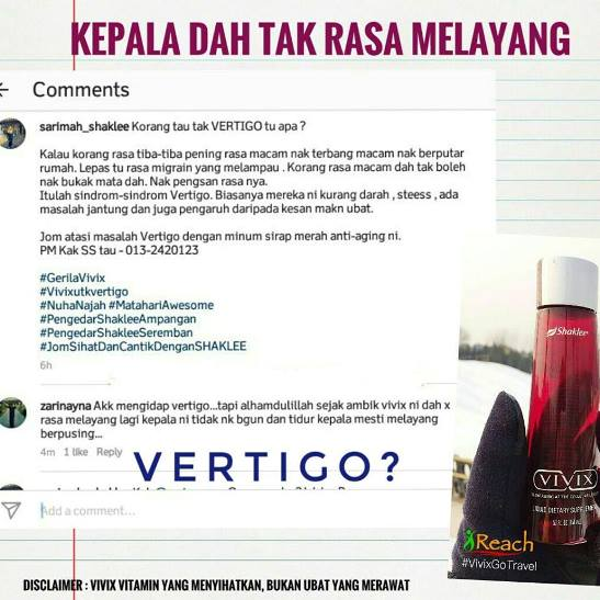 Image result for testimoni vertigo