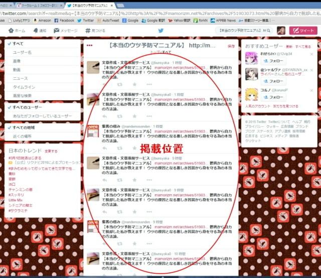 ブログ宣伝依頼2