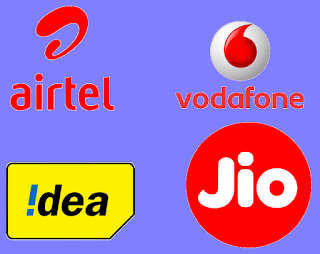 Disruption in Telecom Sector in India, Jio, Airtel, Idea, Vodafone
