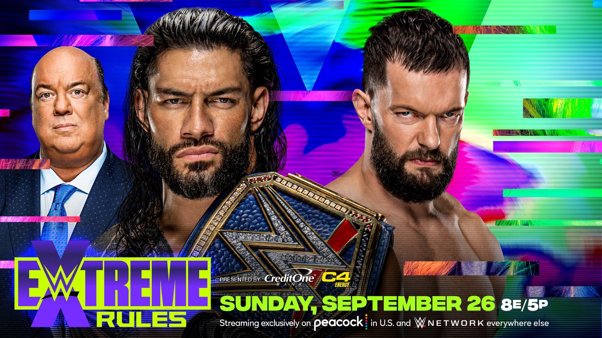 """Roman Reigns vs. Finn Bálor"" é anunciado para o WWE Extreme Rules"