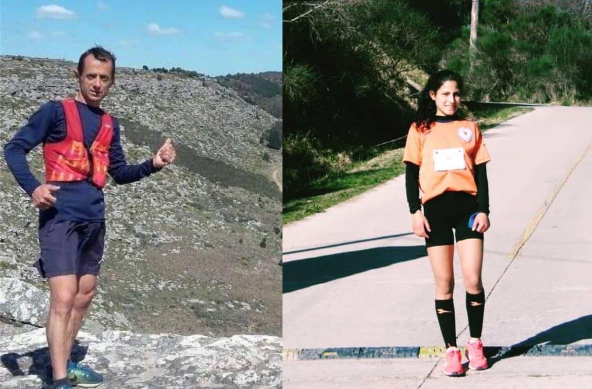 Cella y Lescano ganaron la edición virtual de Maratón Fin de Año
