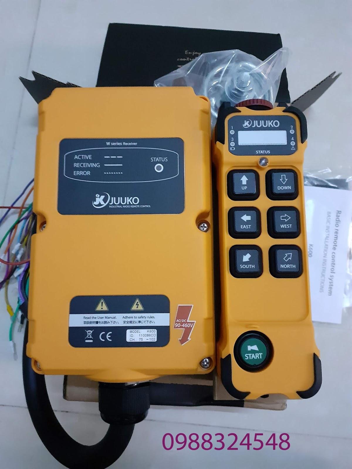 Bộ điều khiển từ xa Juuko K600